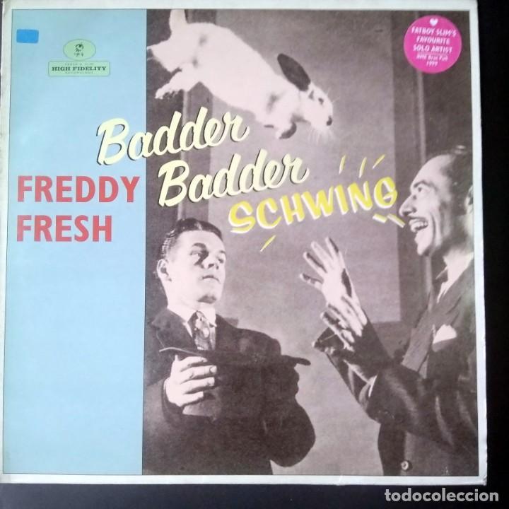 LP- MAXISIGLE - FREDDY FRESH - BADER BADER SCHWING - (Música - Discos - LP Vinilo - Techno, Trance y House)
