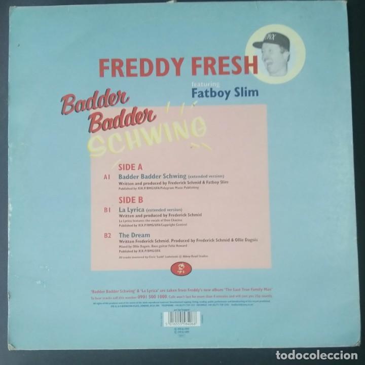 Discos de vinilo: LP- MAXISIGLE - FREDDY FRESH - BADER BADER SCHWING - - Foto 2 - 207541363