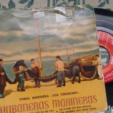 Discos de vinilo: E.P ( VINILO) DE CORAL MARINERA LOS TIBURONES AÑOS 50. Lote 207543691