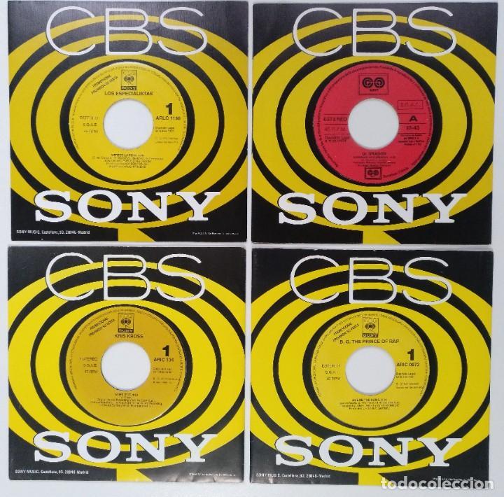 "[[ LOTE 7"" 45RPM ]] B.G. THE PRINCE OF RAP / KRIS KROSS / LOS ESPECIALISTAS / DR. DRAGON (Música - Discos - Singles Vinilo - Rap / Hip Hop)"