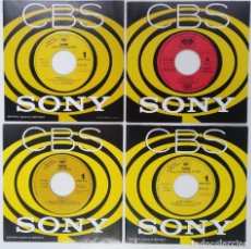 "Discos de vinilo: [[ LOTE 7"" 45RPM ]] B.G. THE PRINCE OF RAP / KRIS KROSS / LOS ESPECIALISTAS / DR. DRAGON. Lote 207543995"
