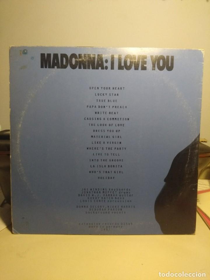 Discos de vinilo: DOBLE LP MADONNA : I LOVE YOU (LIVE IN TORINO ) - Foto 2 - 207580550