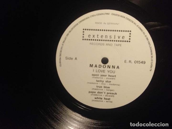 Discos de vinilo: DOBLE LP MADONNA : I LOVE YOU (LIVE IN TORINO ) - Foto 4 - 207580550