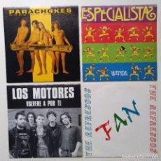 """Discos de vinilo: [[ LOTE 7"""" 45RPM ]] PARACHOKES / LOS MOTORES / LOS ESPECIALISTAS / THE REFRESCOS. Lote 207589518"""