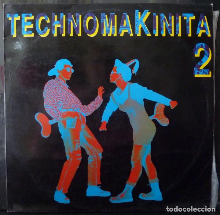 TECHNOMAKINITA 2 // 2LPS // 1991 //LP (Música - Discos - LP Vinilo - Techno, Trance y House)