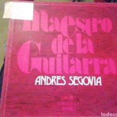 Discos de vinilo: MAESTRO DE LA GUITARRA. ANDRÉS SEGOVIA. VINILO. ESTUCHE DE 3 LP.. Lote 207608710
