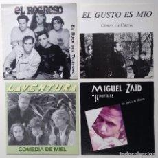 """Discos de vinilo: [[ LOTE 7"""" 45RPM ]] LAVENTURA / EL GUSTO ES MÍO / EL REGRESO / MIGUEL ZAID + 24 DIOPTRÍAS. Lote 207607063"""