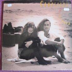 Disques de vinyle: LP - COMP0LICES - ESTA LLORANDO EL SOL (SPAIN, RCA RECORDS 1991, CONTIENE ENCARTE). Lote 207631636