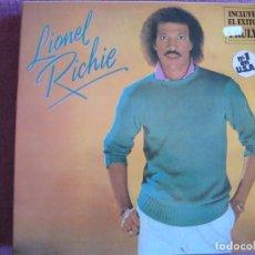 Discos de vinilo: LP - LIONEL RICHIE - SAME (SPAIN, MOTOWN RECORDS 1982, PORTADA DOBLE). Lote 207638556