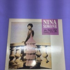 Discos de vinilo: LP NINA SIMONE - MY BABY CARES FOR ME VG. Lote 207640798