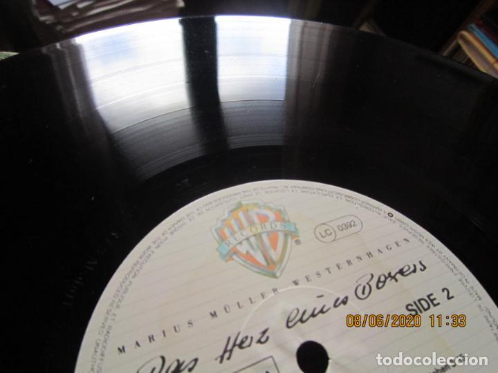 Discos de vinilo: MARIUS MULLER WESTERNHAGEN - DAS HEIZ LP - ORIGINAL ALEMAN - WARNER 1982 CON FUNDA INT. ORIGINAL - Foto 14 - 207640826