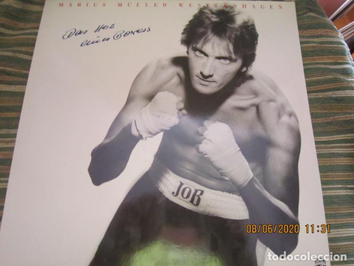 MARIUS MULLER WESTERNHAGEN - DAS HEIZ LP - ORIGINAL ALEMAN - WARNER 1982 CON FUNDA INT. ORIGINAL (Música - Discos - LP Vinilo - Pop - Rock - New Wave Internacional de los 80)
