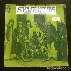 Discos de vinilo: SYMPATHIE (SINGLE 1974 ED. SPAIN) ROSALIE - SHORT STORY - DISCOPHON S-5253 (DISCO RARO Y ESCASO). Lote 207641142