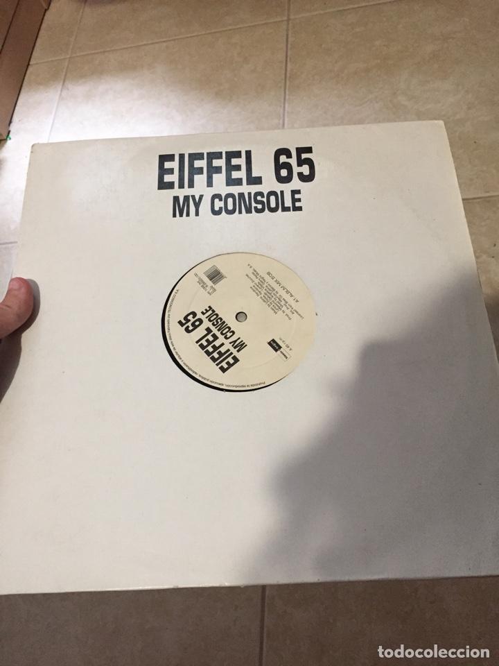 """EIFFEL 65 - MY CONSOLE 12"""" MAXI-SINGLE AÑO 2000 MUY RARO BLANCO Y NEGRO MUSIC - GABRY PONTE (Música - Discos de Vinilo - Maxi Singles - Disco y Dance)"""