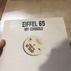 """Discos de vinilo: EIFFEL 65 - MY CONSOLE 12"""" MAXI-SINGLE AÑO 2000 MUY RARO BLANCO Y NEGRO MUSIC - GABRY PONTE. Lote 207642526"""