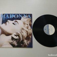 Disques de vinyle: 0620- MADONNA TRUE BLUE 1986 US LP VIN POR VG + DIS NM. Lote 207643481