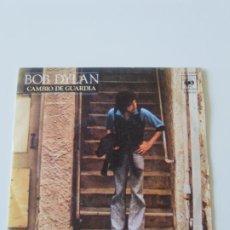Discos de vinilo: BOB DYLAN CAMBIO DE GUARDIA / NEW PONY ( 1978 CBS ESPAÑA ). Lote 207643801