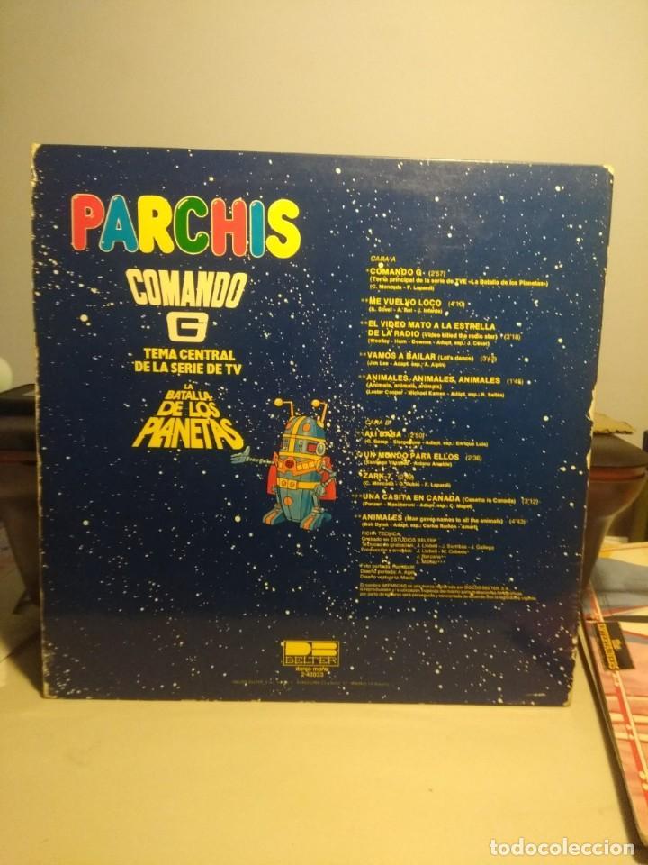 Discos de vinilo: LP PARCHIS ( COMANDO G & LA GUERRA DE LOS PLANETAS + EL VIDEO MATO + ME VUELVO LOCO + ANIMALES + ETC - Foto 2 - 207651225