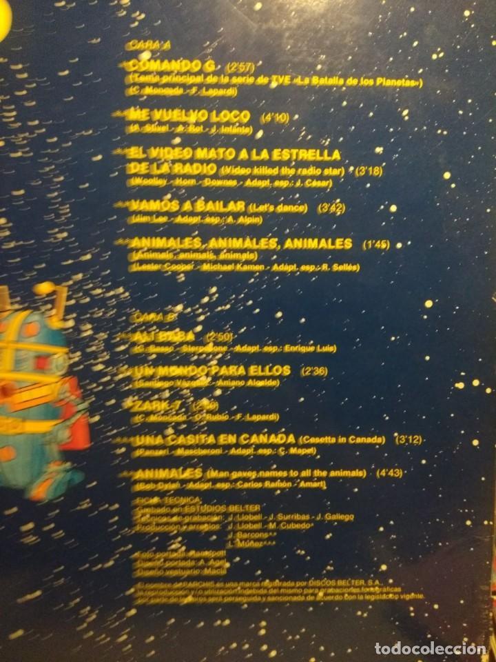 Discos de vinilo: LP PARCHIS ( COMANDO G & LA GUERRA DE LOS PLANETAS + EL VIDEO MATO + ME VUELVO LOCO + ANIMALES + ETC - Foto 4 - 207651225