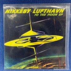 Discos de vinilo: SINGLE NIKKEBY LUFTHAVN - TO THE MOON - AÑO 2000 - NORUEGA - 116/200 - UNDERGROUND REC 024. Lote 207652621
