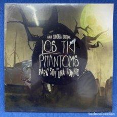 Discos de vinilo: SINGLE BANDA SONORA LOS TIKI PHANTOMS - PAPÁ SOY UNA ZOMBIE - NUEVO - AÑO 2012. Lote 207653395