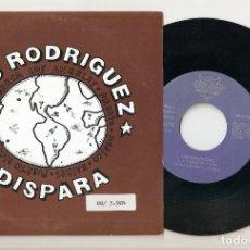 """Discos de vinilo: LOS RODRIGUEZ 7"""" SPAIN 45 DISPARA SINGLE VINILO 1991 SPANISH POP ROCK PROMOCIONAL MUY BUEN ESTADO !!. Lote 207654896"""