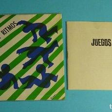 Discos de vinilo: JUEGOS Y RITMOS. LIBRETO DE LA COLECCIÓN. Lote 207655812