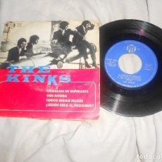 Dischi in vinile: EP THE KINKS CANSADO DE ESPEWRARTE, VEN, TODOS SERAN FELICES..ED. 1965 RCA ESPAÑA, PROTO-PUNK. Lote 207670131