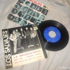 Dischi in vinile: EP LOS SALVAJES NEURASTENIA, SOY ASI, THESE BOOTS..EMI 1966, SPAIN ROCK +REGALO. Lote 207670376