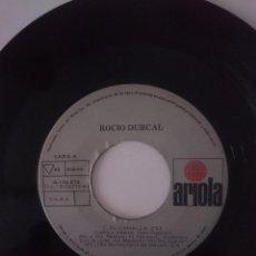 Discos de vinilo: SINGLE - ROCIO DURCAL - AÑO 1984 -VER FOTOS. Lote 207676050