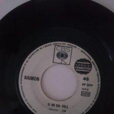 Discos de vinilo: SINGLE - RAIMON -VER FOTOS. Lote 207676077
