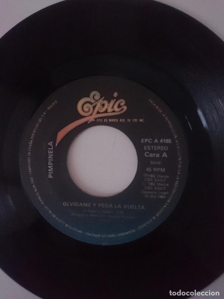SINGLE - PIMPINELA - AÑO 1982 -VER FOTOS (Música - Discos - Singles Vinilo - Grupos y Solistas de latinoamérica)