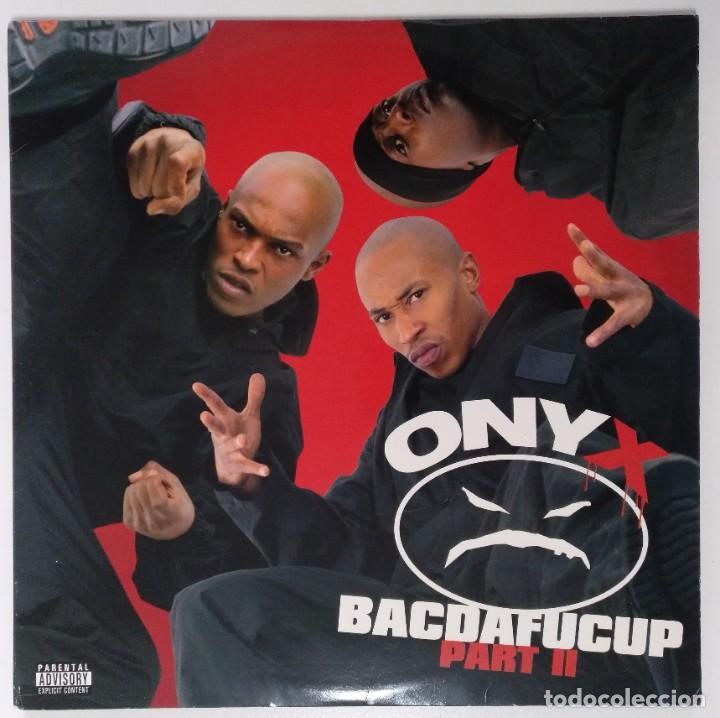 """ONYX -BACDAFUCUP PART II 2XLP ALBUM VINILO RAP / US HIP-HOP RAP 2002 (12"""" ALBUM, 33 RPM) (Música - Discos - LP Vinilo - Rap / Hip Hop)"""
