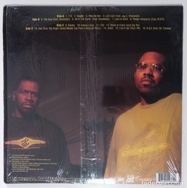 """Discos de vinilo: JAZ-O & THE IMMOBILARIE PRESENT KINGZ KOUNTY 2xLP ALBUM VINILO RAP / US HIPHOP 2002 (12"""" ALBUM) - Foto 2 - 207666608"""