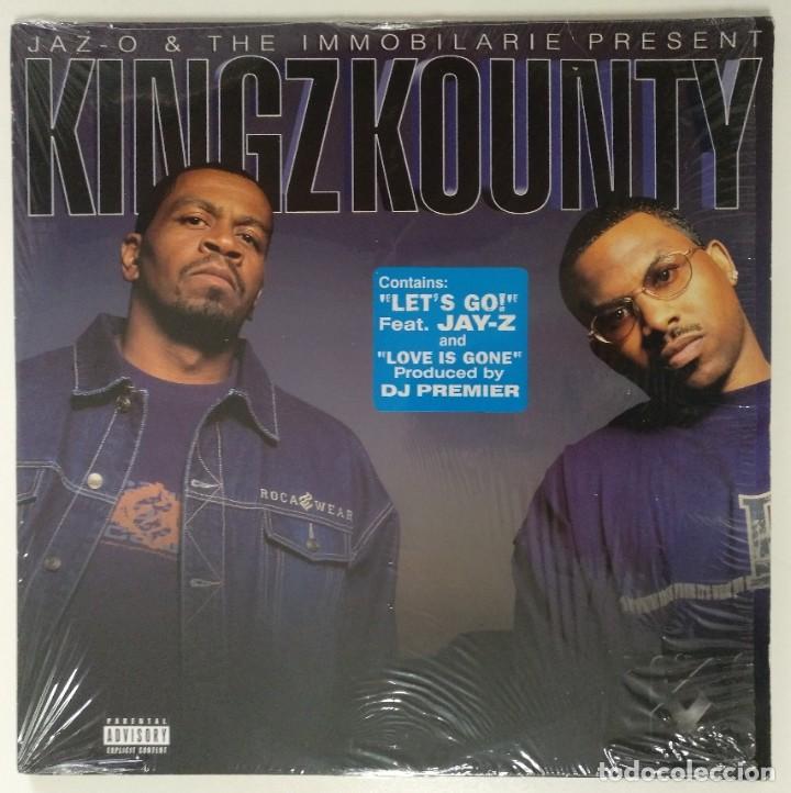 """JAZ-O & THE IMMOBILARIE PRESENT KINGZ KOUNTY 2XLP ALBUM VINILO RAP / US HIPHOP 2002 (12"""" ALBUM) (Música - Discos - LP Vinilo - Rap / Hip Hop)"""