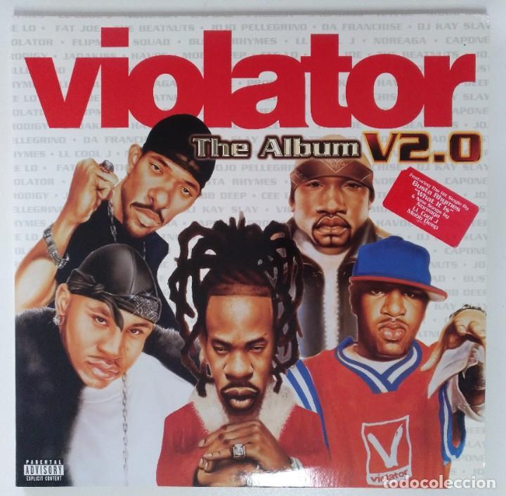 """VIOLATOR -THE ALBUM V2.0 2XLP ALBUM VINILO RAP / US HIPHOP 2001 (12"""" ALBUM 33 RPM) (Música - Discos - LP Vinilo - Rap / Hip Hop)"""