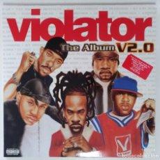 """Discos de vinilo: VIOLATOR -THE ALBUM V2.0 2XLP ALBUM VINILO RAP / US HIPHOP 2001 (12"""" ALBUM 33 RPM). Lote 207670522"""