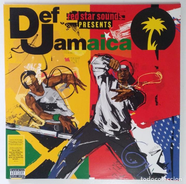 """RED STAR SOUNDS PRESENTS DEF JAMAICA 2XLP ALBUM VINILO US RAP / HIPHOP 2003 (12"""" ALBUM 33 RPM) (Música - Discos - LP Vinilo - Rap / Hip Hop)"""