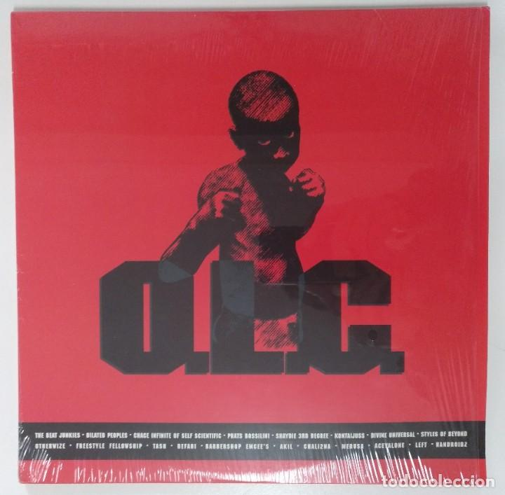 """VARIOUS – O.L.C. 2XLP ALBUM COMPILATION VINILO RAP / US HIPHOP 1999 (12"""" ALBUM 33 RPM) (Música - Discos - LP Vinilo - Rap / Hip Hop)"""