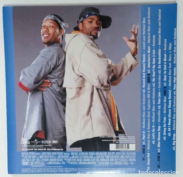"""Discos de vinilo: METHOD MAN & REDMAN -BSO HOW HIGH 2LP ALBUM COMPILATION VINILO RAP / US HIPHOP 2002 (12"""" ALBUM) - Foto 2 - 207671696"""