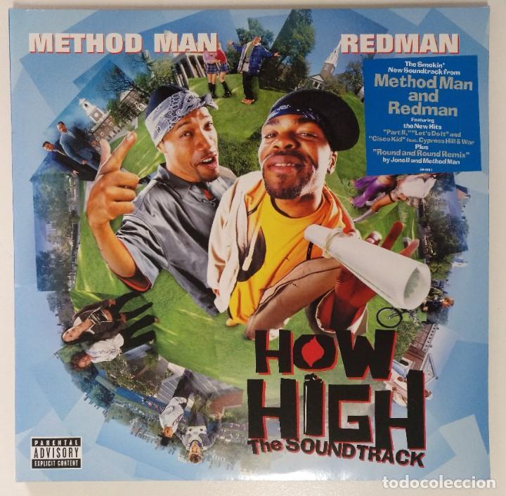"""METHOD MAN & REDMAN -BSO HOW HIGH 2LP ALBUM COMPILATION VINILO RAP / US HIPHOP 2002 (12"""" ALBUM) (Música - Discos - LP Vinilo - Rap / Hip Hop)"""