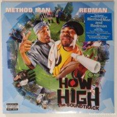 """Discos de vinilo: METHOD MAN & REDMAN -BSO HOW HIGH 2LP ALBUM COMPILATION VINILO RAP / US HIPHOP 2002 (12"""" ALBUM). Lote 207671696"""
