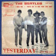 Discos de vinilo: EP THE BEATLES - HELP - SOCORRO - YESTERDAY - DSOE 16.676 - ESPAÑA - AÑO 1965. Lote 207685918