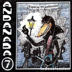 Discos de vinilo: ANDANADA 7 ESPECIE EN EXTINCIÓN LP PUNK ROCK HARDCORE. Lote 207686328