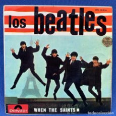 Discos de vinilo: EP LOS BEATLES - THE BEATLES WHEN THE SAINTS - EPH 50926 - ESPAÑA - AÑO 1964- BIEN CONSERVADO. Lote 207691707
