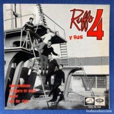 Discos de vinilo: EP RUFFO Y SUS 4 - AMOR , PERDÓNAME - ESPAÑA - AÑO 1964. Lote 207695822