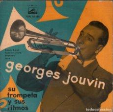 Discos de vinil: GEORGES JOUVIN SU TROMPETA Y SUS RITMOS / EP RF-4303. Lote 207699917