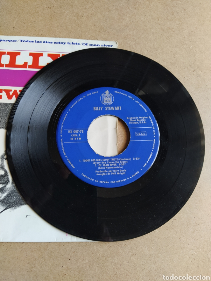 """Discos de vinilo: Billy Stewart """" Every day I have the blues"""" - Foto 2 - 207700655"""