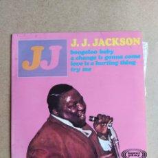 Discos de vinilo: J.J. JACKSON BOOGALOO BABY. Lote 207703295