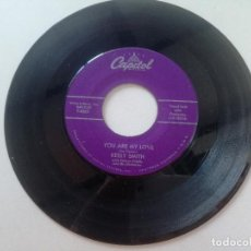 Discos de vinilo: KEELY SMITH / LOUIS PRIMA - THAT OLD BLACK MAGIC / YOU ARE MY LOVE - SG USA CAPITOL 1958. Lote 207720806